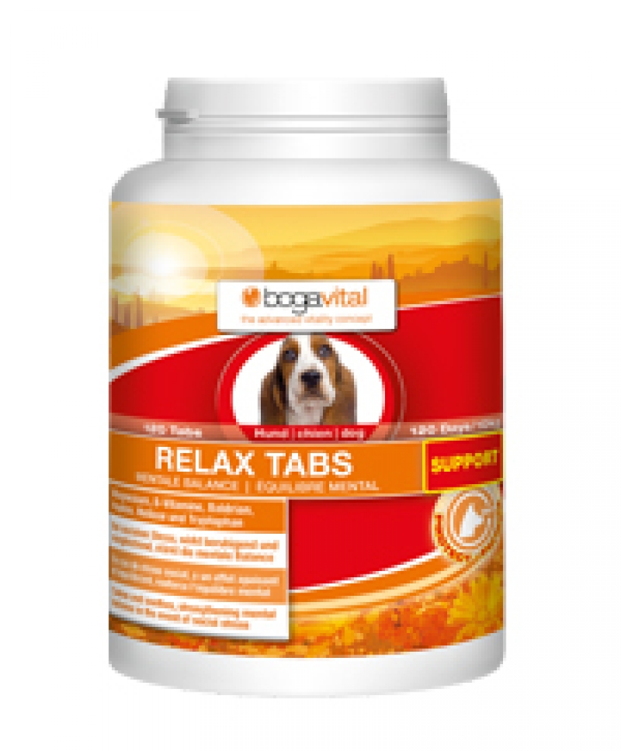 RELAX TABS DOG | Tablets that combat the stress and anxiety