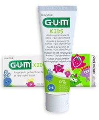 GUM | Gel Dentífrico Kids Morango